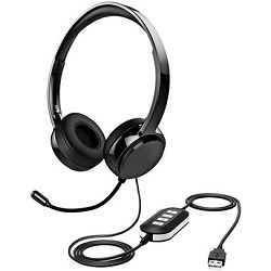TH071A Stereo komunikacijska slušalica USB & 3.5mm